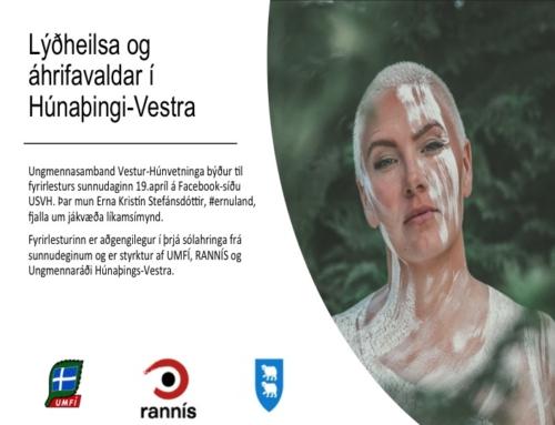 Lýðheilsa og áhrifavaldar í Húnaþingi-Vestra.